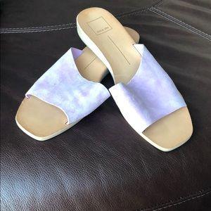 Lavender suede Dolce vita sandals size9.5